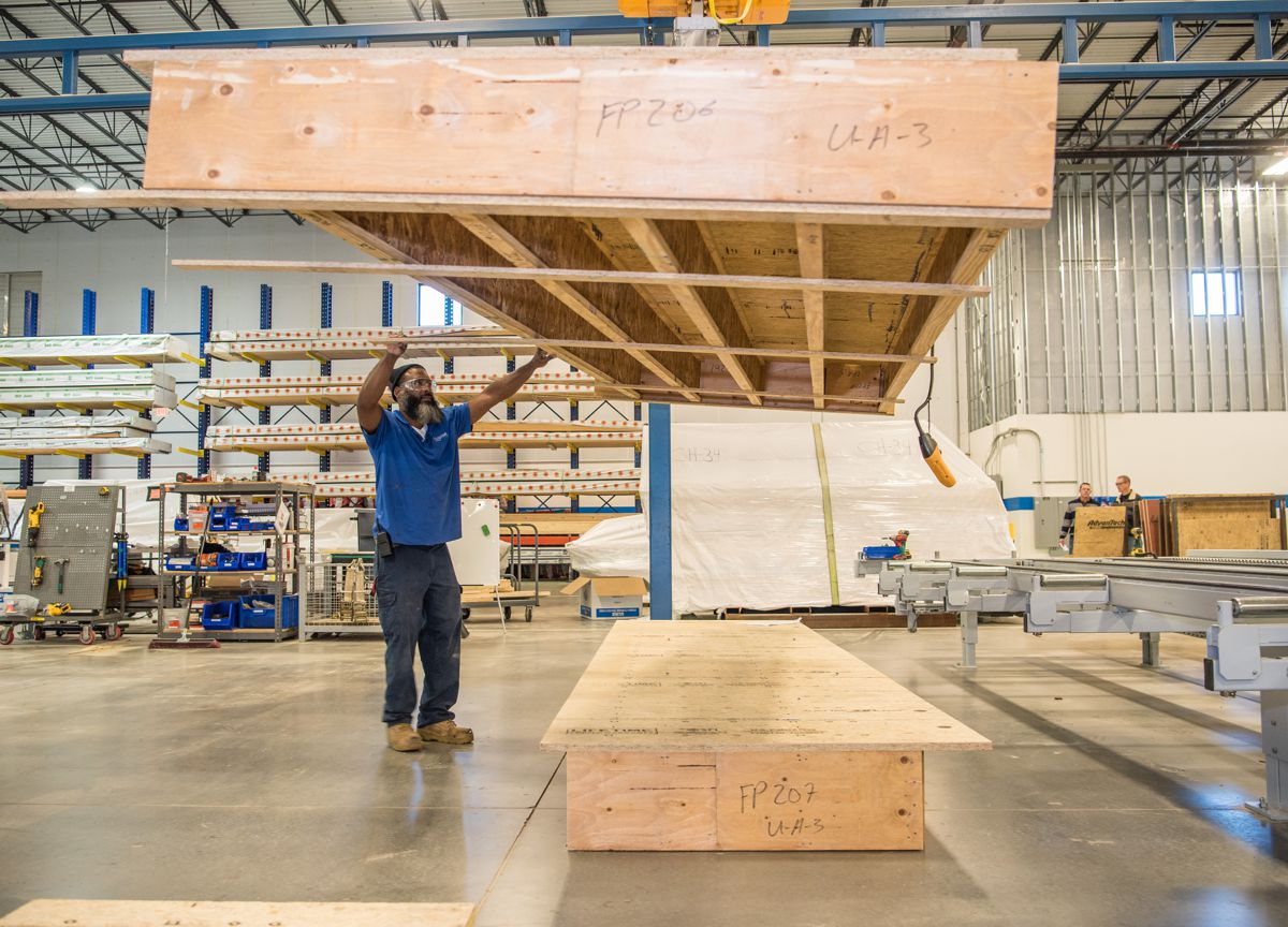 Blueprint Robotics champions pre-fabricated off-site construction