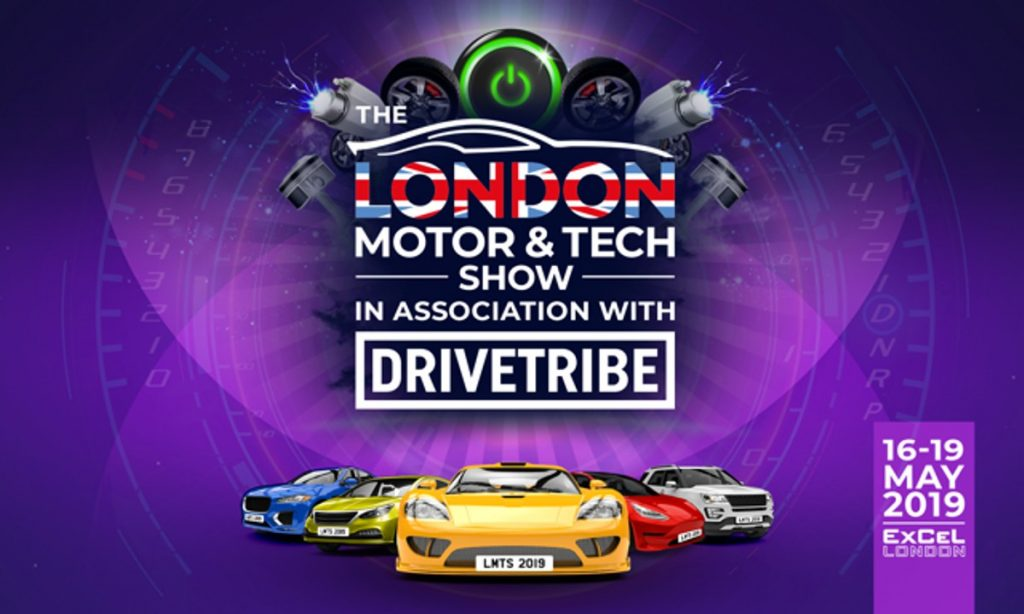 DriveTribe confirmed as lead sponsor at 2019 London Motor and Tech Show