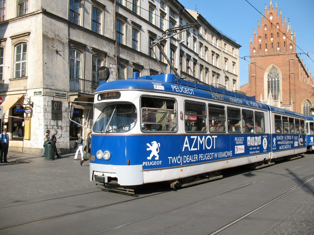 Krakow Tram - Photo by photobeppus