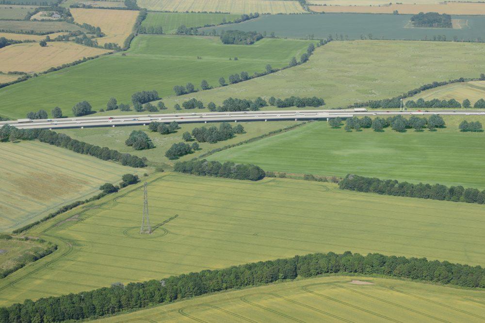 How the Lower Thames Crossing viaduct over the Mardyke Valley will look