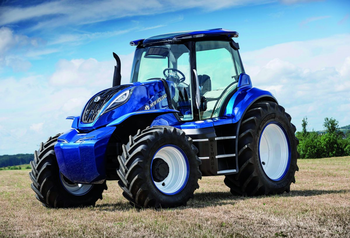 New Holland Tractor wins 2018 Good Design Award for methane powered concept