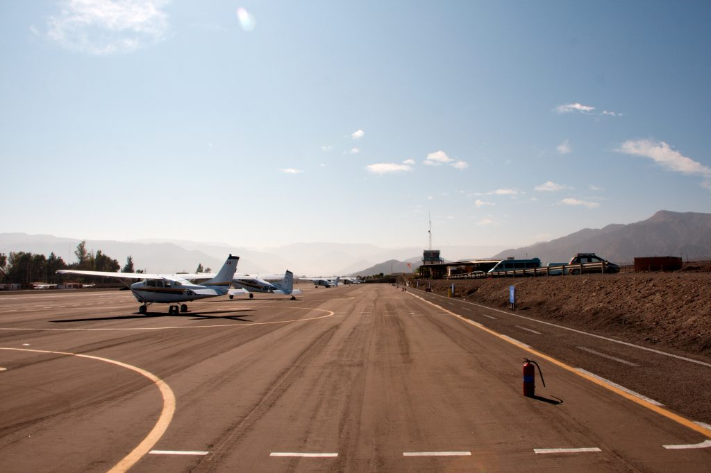 Peru Airport - Photo by Christian Haugen
