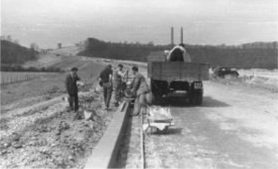 Preston bypass construction