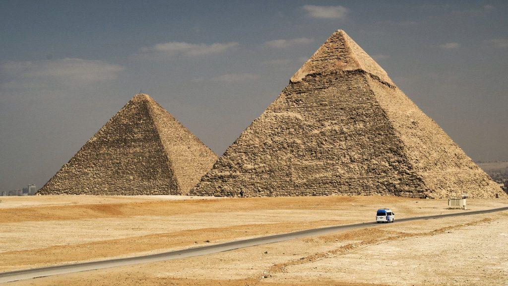 Pyramids - Photo by Jack Bracken