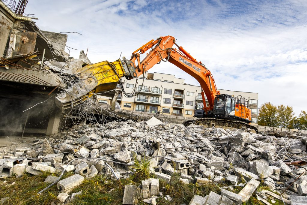 Shannon Valley invests in Hitachi to cope with growth in Irish construction
