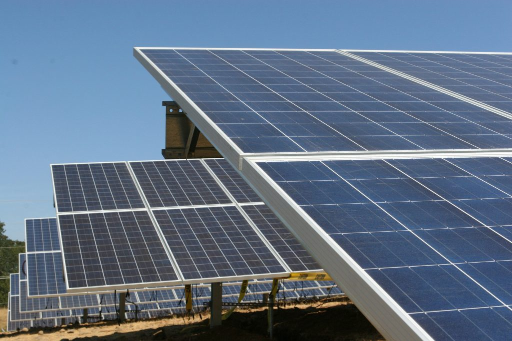 Solar Panels - Photo by Portland General Electric