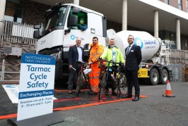 Tarmac and Nottingham Trent University get in gear for cycle safety