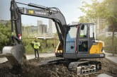 Volvo EC75D Compact Excavator launched at Bauma China