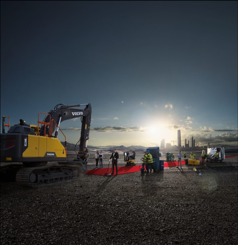VolvoCE launches Volvo Services in China