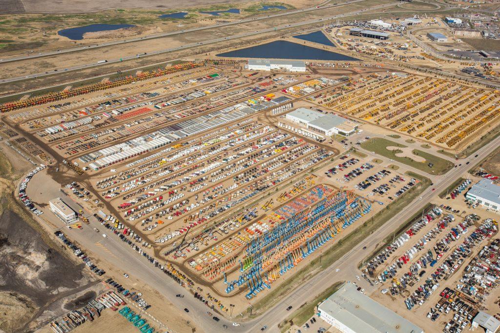 Ritchie Bros. Edmonton equipment sales up 15 percent for 2018