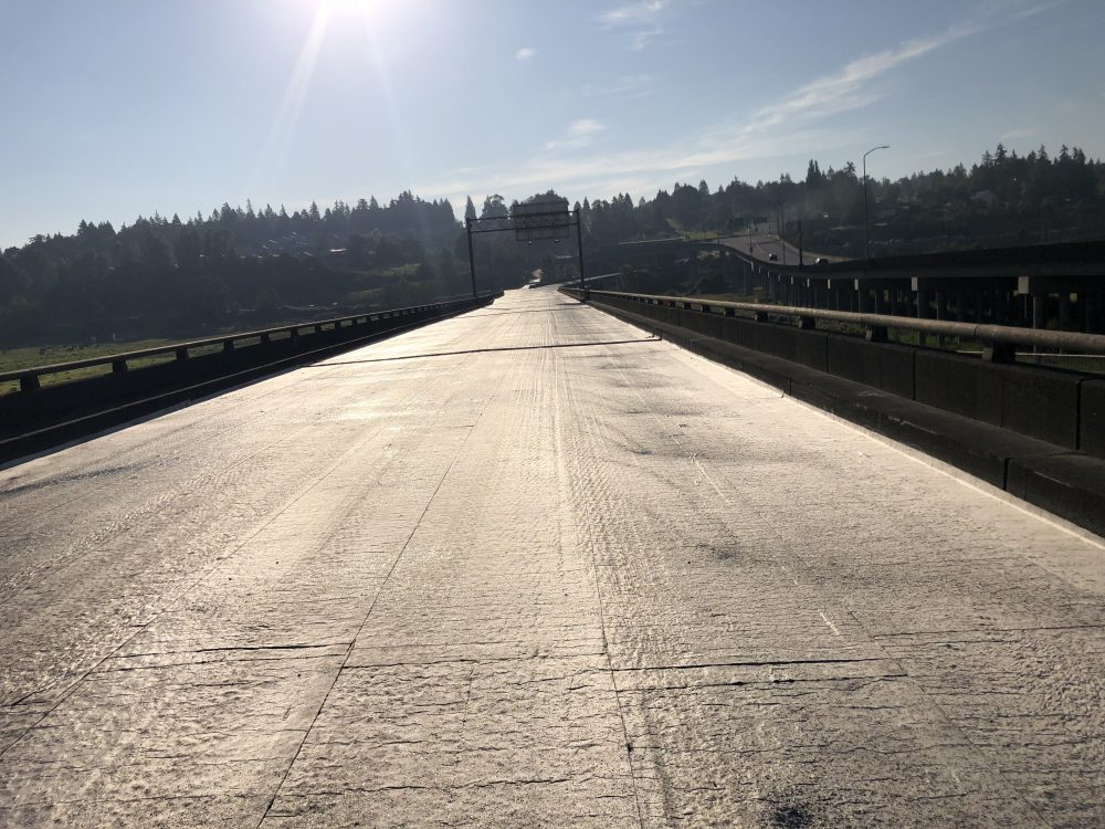 Waterproofing roads for the Washington Weather