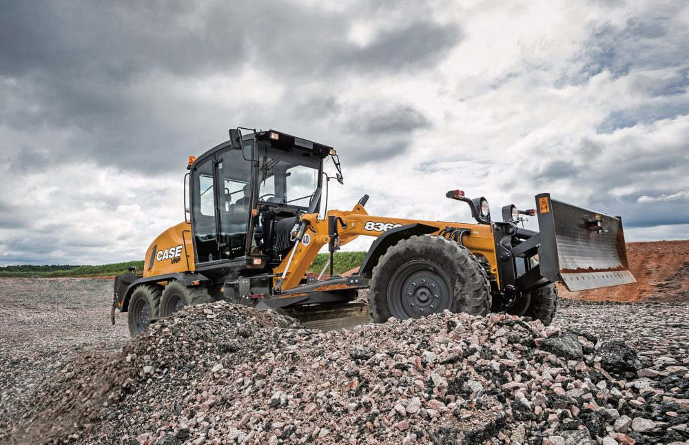 CASE introduces C Series Motor Graders