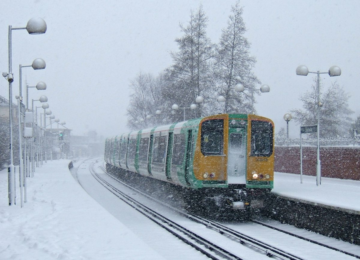Snow and ice treatment trains all set to keep Network Rail on track this winter