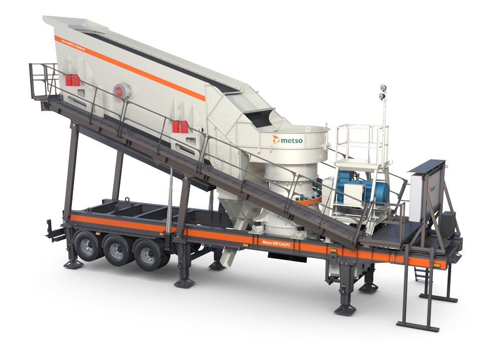 Metso introduces higher capacity Crushers to NW Rapid range