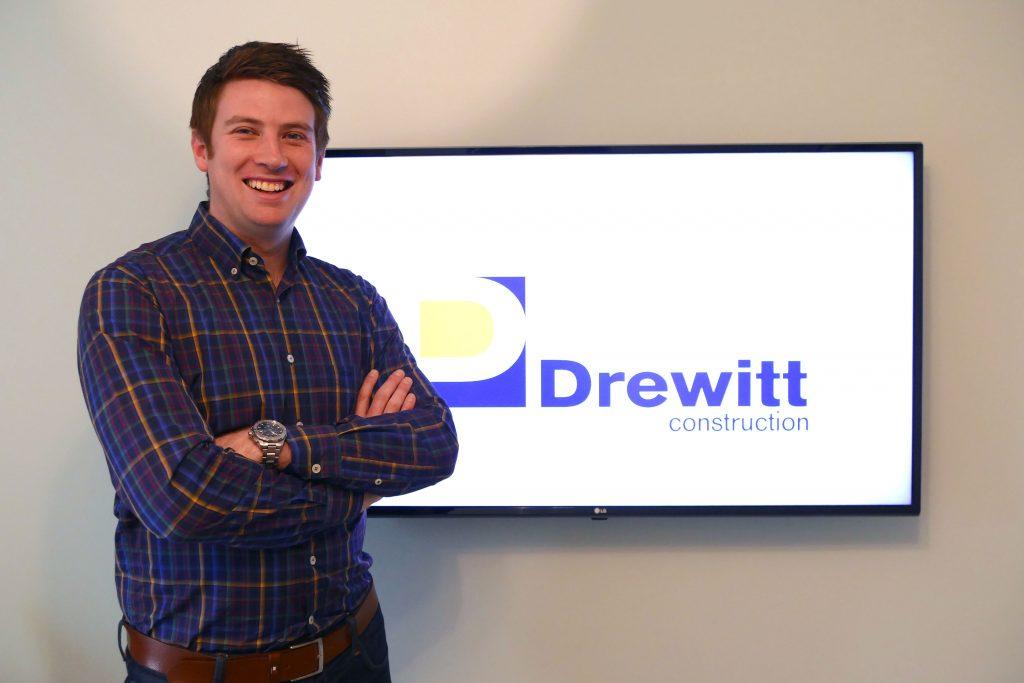 Alex Drewitt, founder of Drewitt Construction, based in the West Midlands