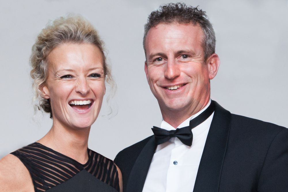 Amy McCormack, Director (left) Andy McCormack, Managing Director (right)