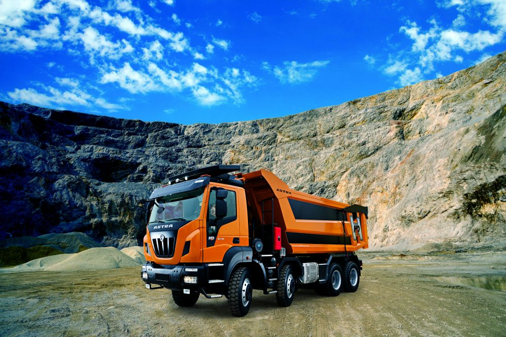 IVECO HD9 truck