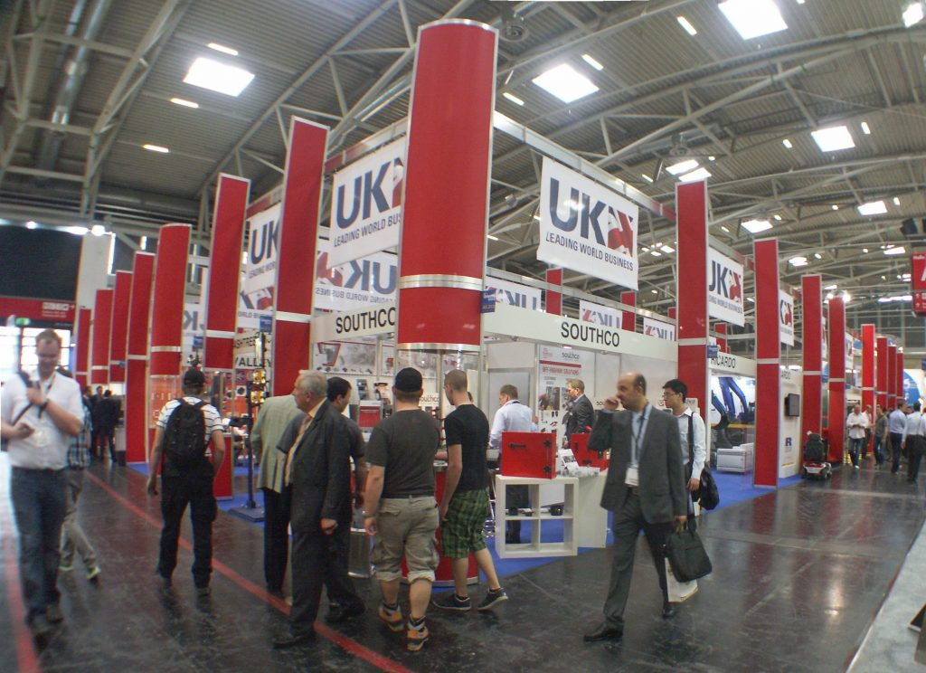 The UK Pavilion at Bauma flies the Flag for Great Britain