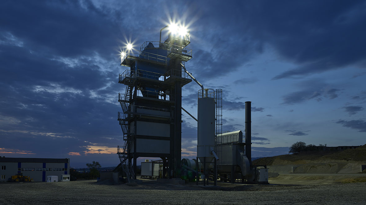 New ECO asphalt mixing plant from BENNINGHOVEN is a world first
