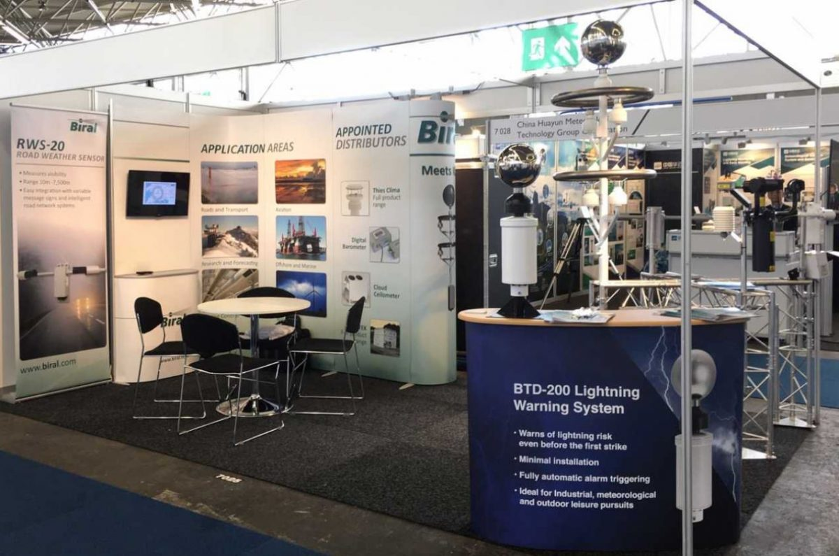 Leading meteorological specialist, Biral saw success at many of its exhibitions last year, with its staff travelling around the globe to meet customers and introduce its new products to the market. With more exhibitions than ever before, it's no surprise that sales have increased securing many high profile contracts all over the world.