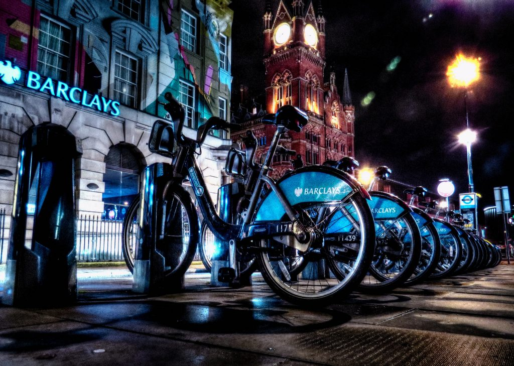 Boris Bikes - Photo by David Skinner
