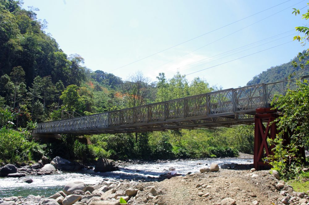 C200 Bridge over Pacuare River, Costa Rica