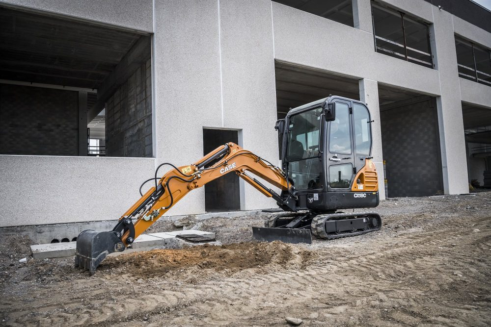 CASE CX18C mini excavator