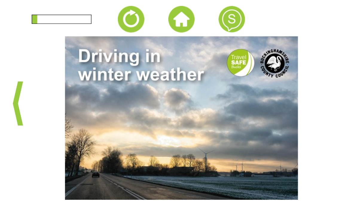 Buckinghamshire's online workshop provides winter driving refresher