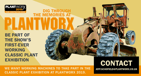 Plantworx 2019 to take a trip down memory lane with Classic Plant display