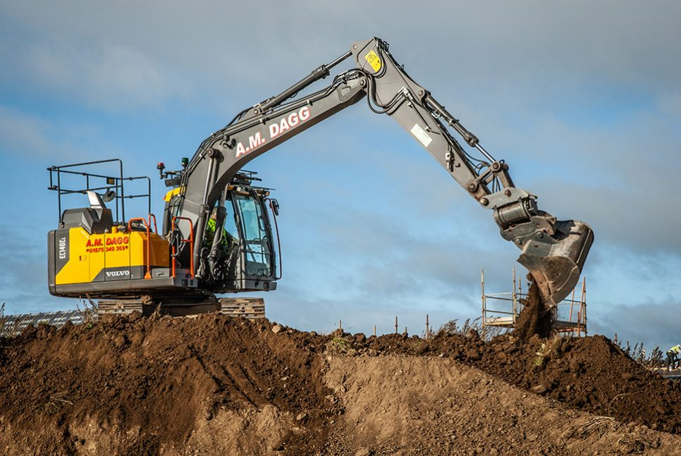 Volvo comfort and performance win over A M Dagg Plant Hire again