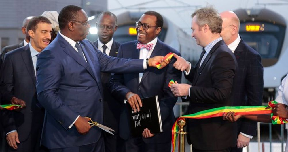 Dakar Regional Express Trains funded by AfDB are handed over in Senegal