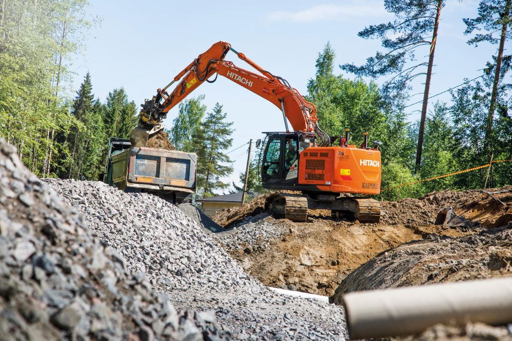 Hitachi's support chain makes all the difference for Finland's Maanrakennus Lassi Kaiponen