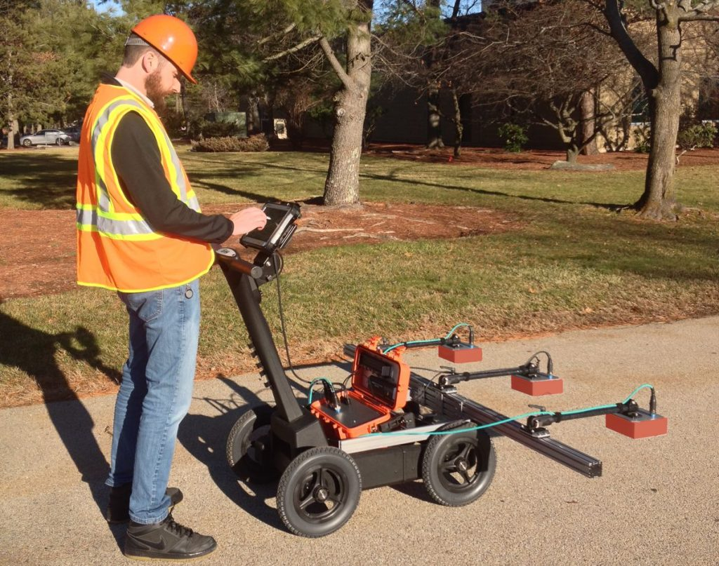 GSSI showcases innovative PaveScan RDM Asphalt Density Assessment Tool