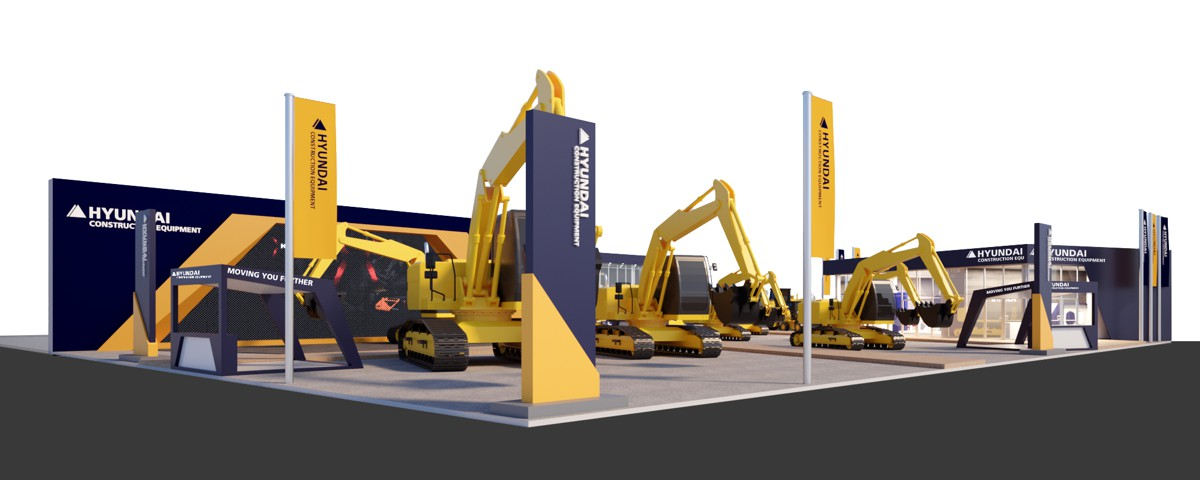 New technology and service enhancements are key for Hyundai at Bauma 2019