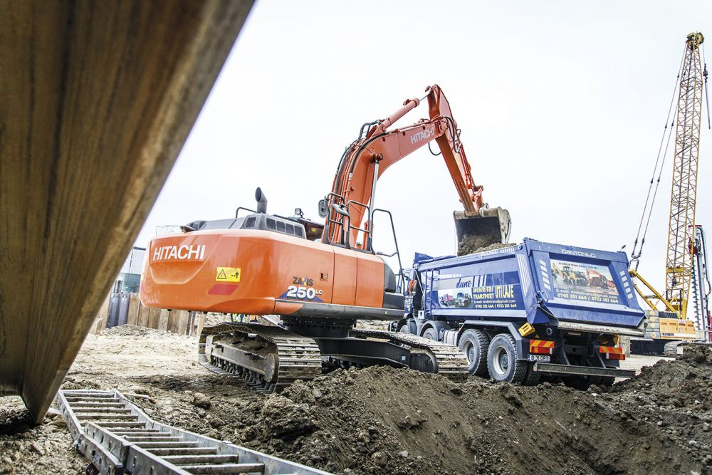 Hitachi Excavator and GET the ideal combination for SC Agremin Transcom in Romania