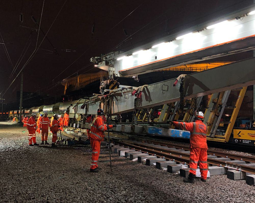Network Rail delivers 330 projects worth over £148m on time