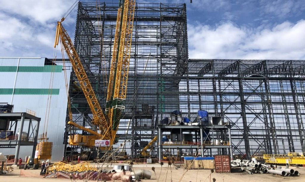 ALE's crane methodology saves significant costs on Mexico steel mill build
