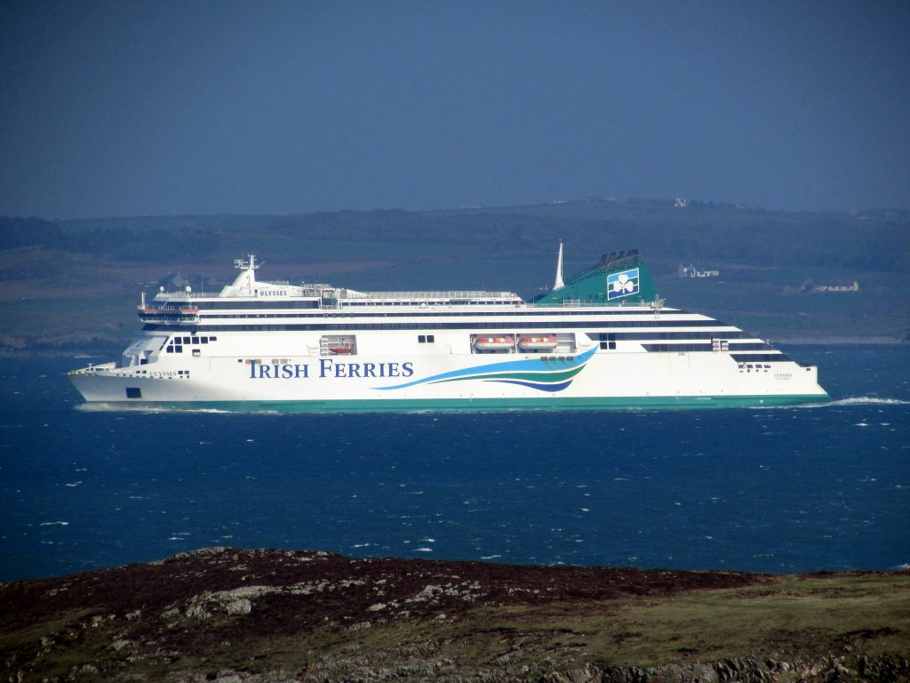 Irish Ferry - Photo by Reading Tom