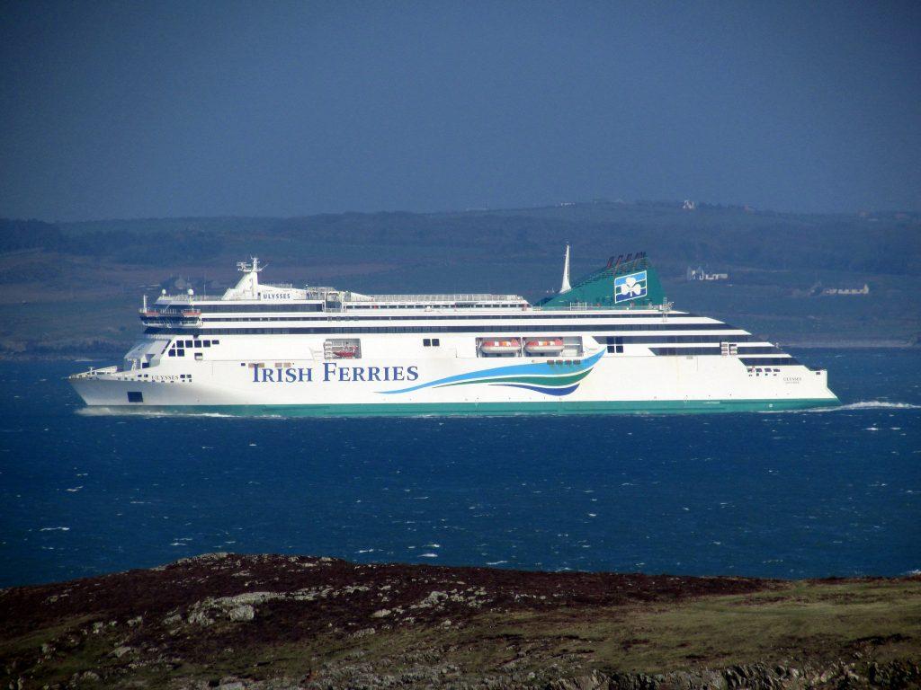 Irish Ferry - Photo by Reading Tom