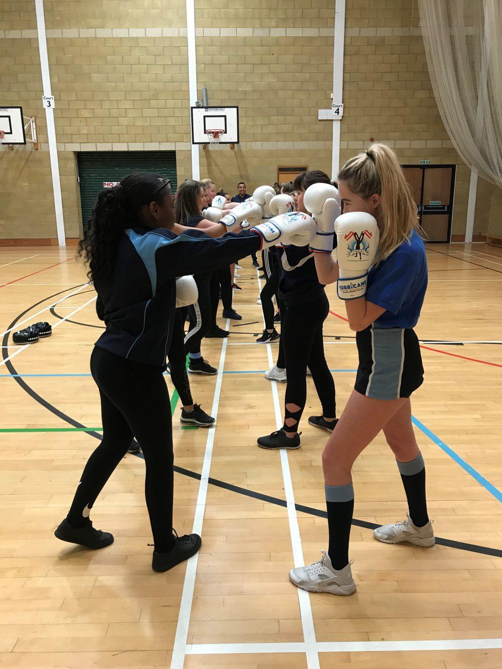 Students from John Warner school in Hoddesdon