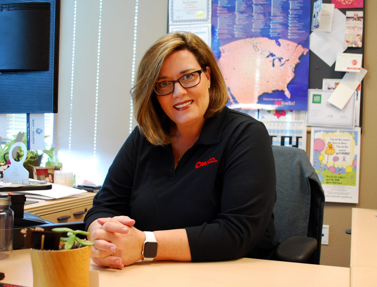 Crafco's Lisa Zentner honoured by Women of Asphalt