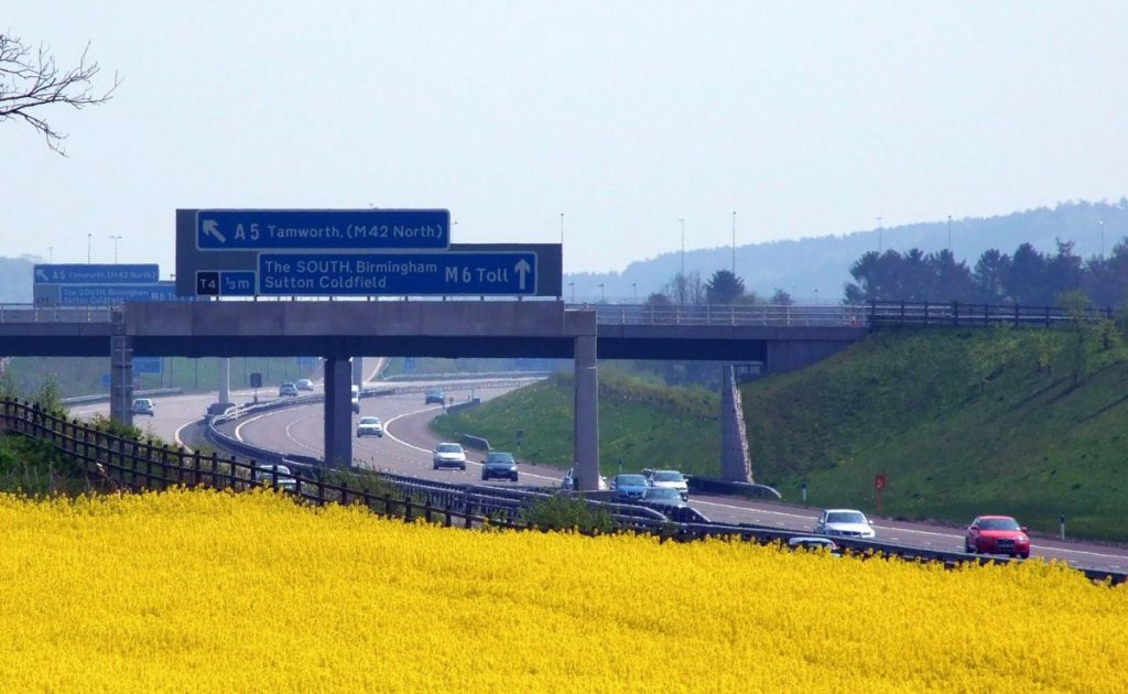 M6 Toll - Photo by Lee Jordan