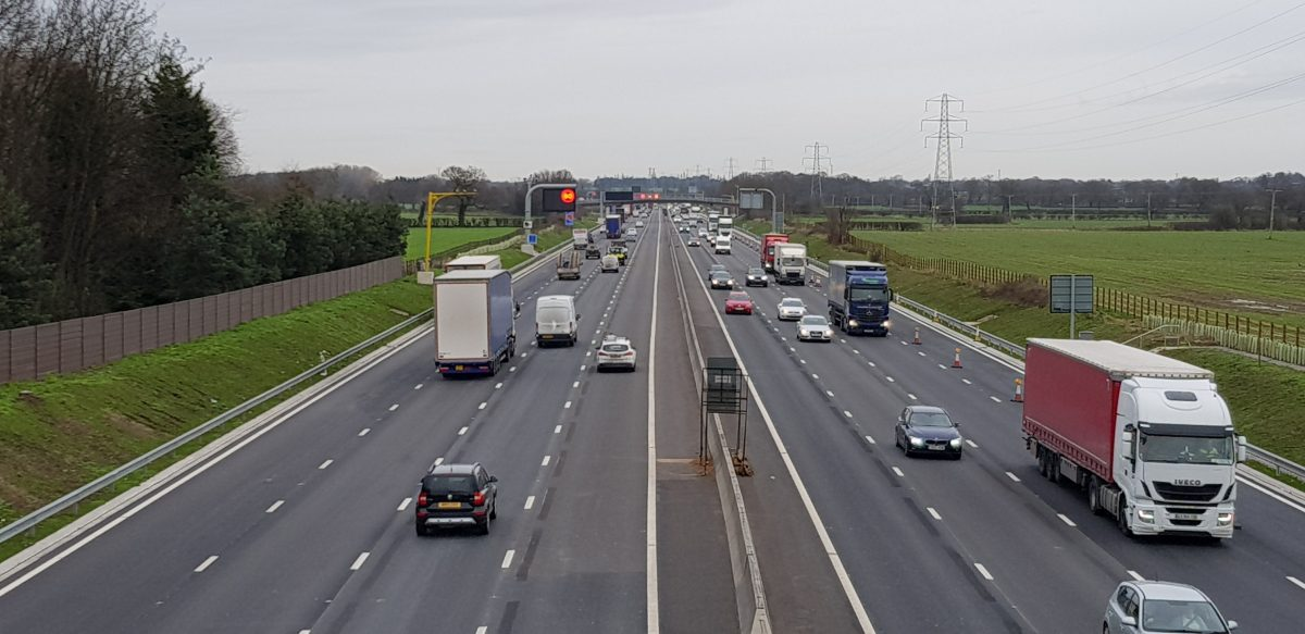 Extra lanes open on M6 in Cheshire as major upgrade nears completion