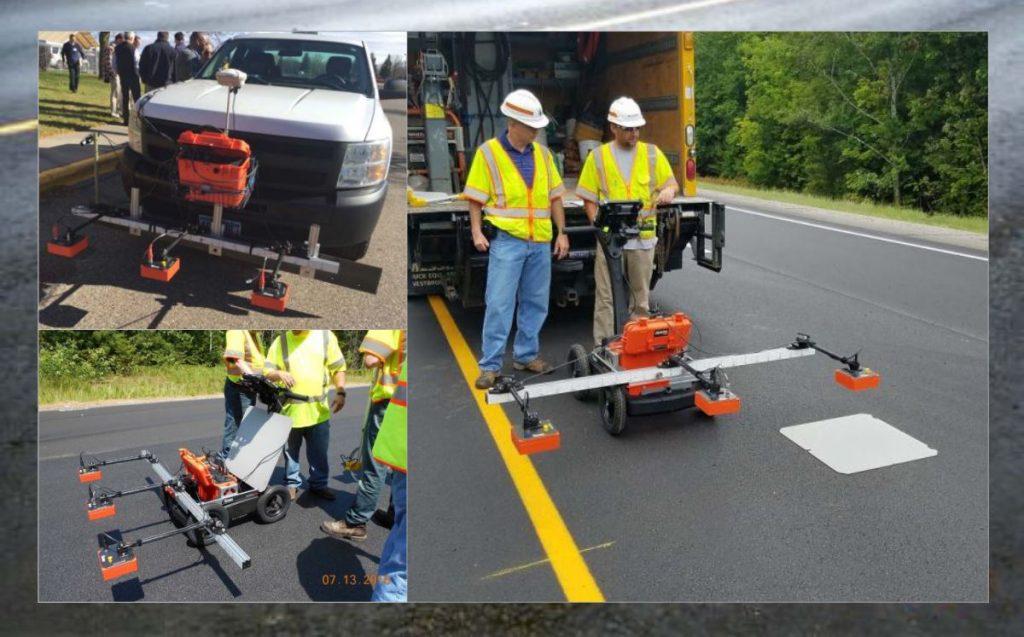 Maine DOT uses GPR Tech to ensure optimum pavement density throughout pavement layer