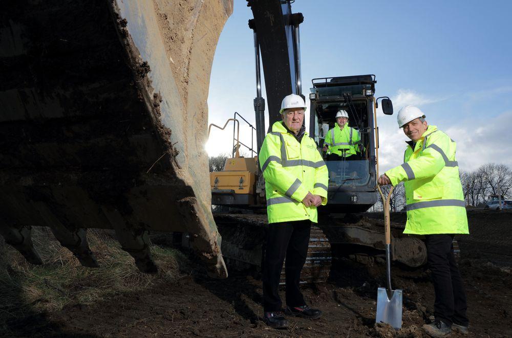 New phase of major Sunderland housing development at Potters Hill begins