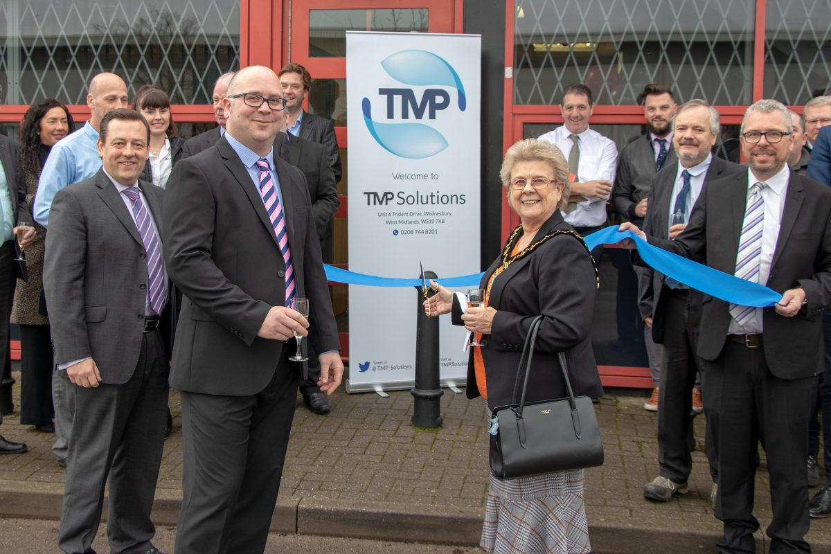 Grand opening for TMP Solutions' new manufacturing site in Wednesbury