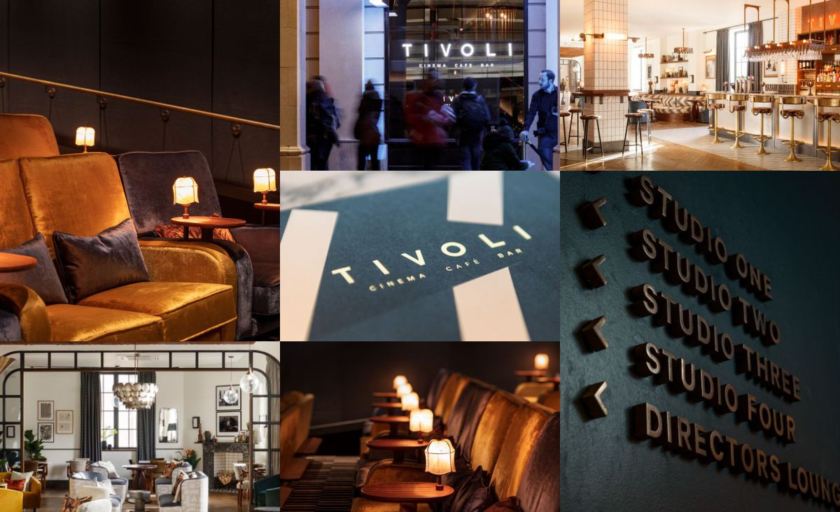The first Tivoli Cinema designed by Run For The Hills opens in Bath