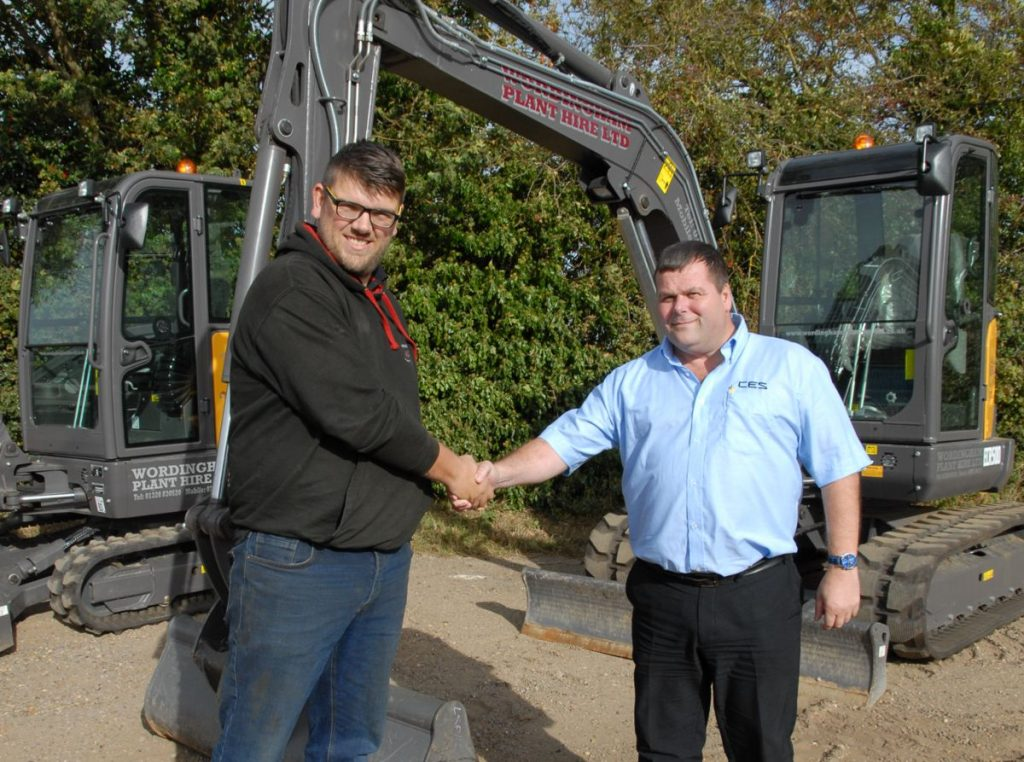 Positive feedback prompts Wordingham Plant Hire to opt for Volvo compact excavators