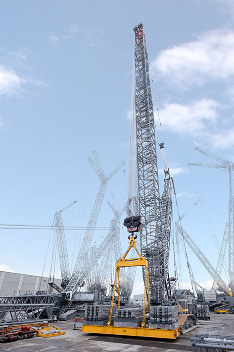 The new Liebherr LR 1800-1.0 crawler crane is designed to deliver maximum performance for industrial applications.