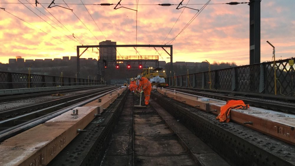 Project to keep Newcastle's railways running reliably completes for another year